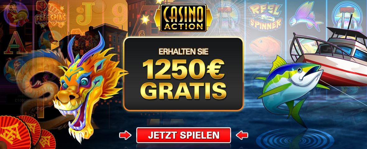 casino action 1250 euro gratis